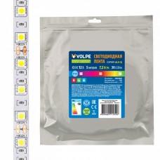 Лента светодиодная [5 м] Volpe ULS-Q210 ULS-Q210 5050-30LED/m-10mm-IP20-DC12V-7,2W/m-5M-RGB катушка в герметичной упаковке